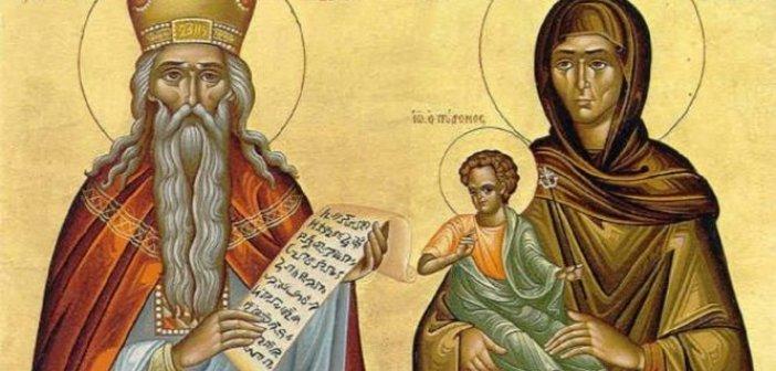 Σήμερα τιμώνται ο Προφήτης Ζαχαρίας και η σύζυγος του Ελισάβετ