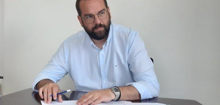 """Ο Νεκτάριος Φαρμάκης στο """"Δυτικά Fm 92,8"""": """"Αλλάζουμε στρατηγική και ταχύτητα"""""""